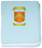 Print your crest on: Baby blanket