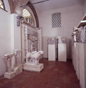 Lapidario Museum - the second room - Credit - Museo Civico d'Arte - Agostino Pugnaghi 1999