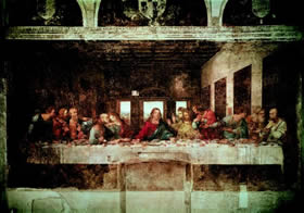Lombardy, Milan - the genius of Leonardo da Vinci has left us an unforgettable Last Supper - Credit - De Agostini Picture Library