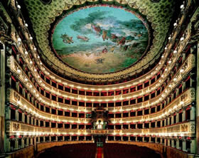 Teatro San Carlo, a shrine to opera renowned throughout the world - Credit - De Agostini Picture Library