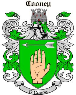 COONEY family crest