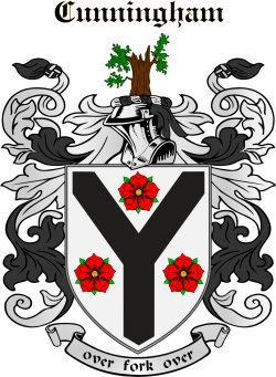 CUNNINGHAM family crest