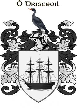 DRISCOLL family crest