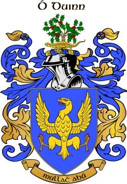 Dunn family crest