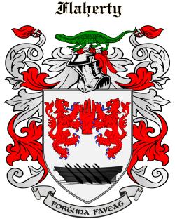 Flaherty family crest