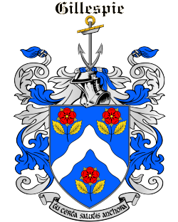 GILLESPIE family crest