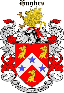Howes family crest