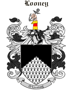LOONEY family crest
