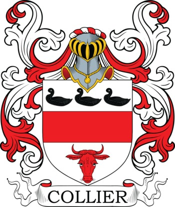 COLLIER family crest