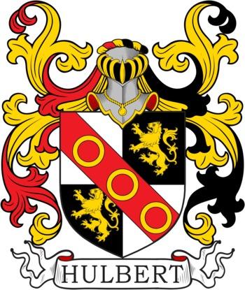 HULBERT family crest