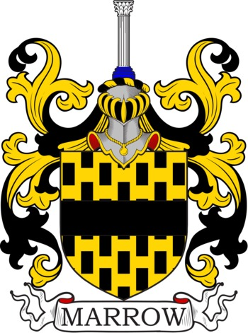 MARROW family crest