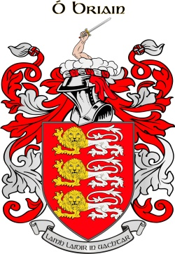 O'BRIAN family crest