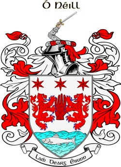 O'NEAL family crest