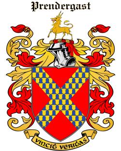 PRENDERGAST family crest