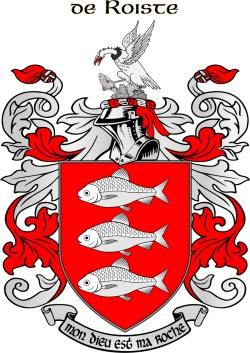 ROCHE family crest