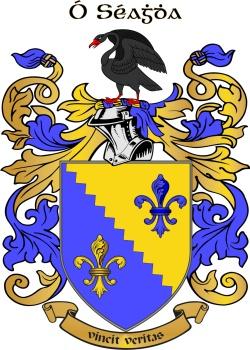 O'SHEA family crest
