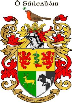O'SULLIVAN family crest