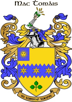 THOMPSON family crest